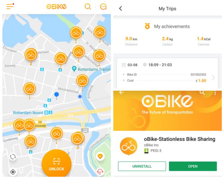 inchiriere biciclete olanda aplicatie mobil