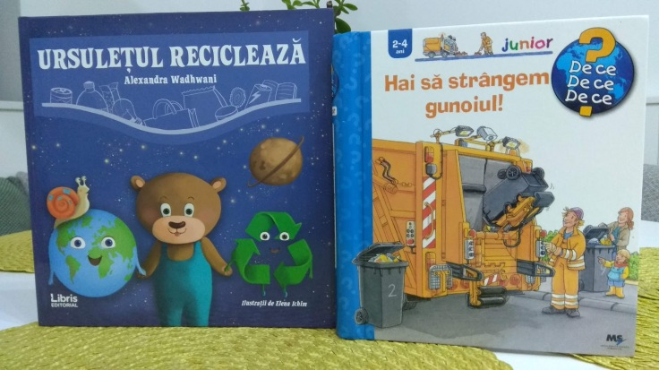 carti pentru copii reciclare