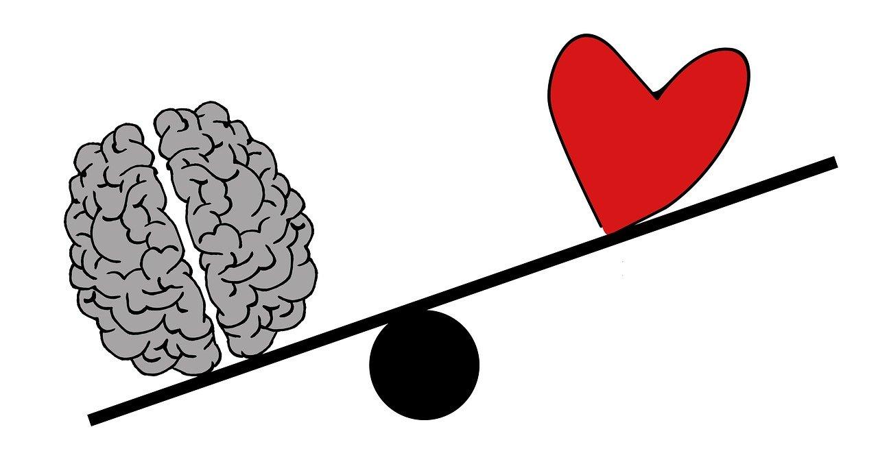 """Despre momentele când """"gândim"""" cu inima, nu cu mintea. În termeni mai tehnici."""